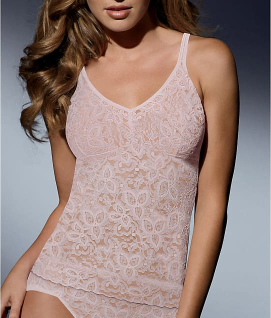 Bali Lace 'N Smooth Firm Control Camisole in Rosewood 8L12