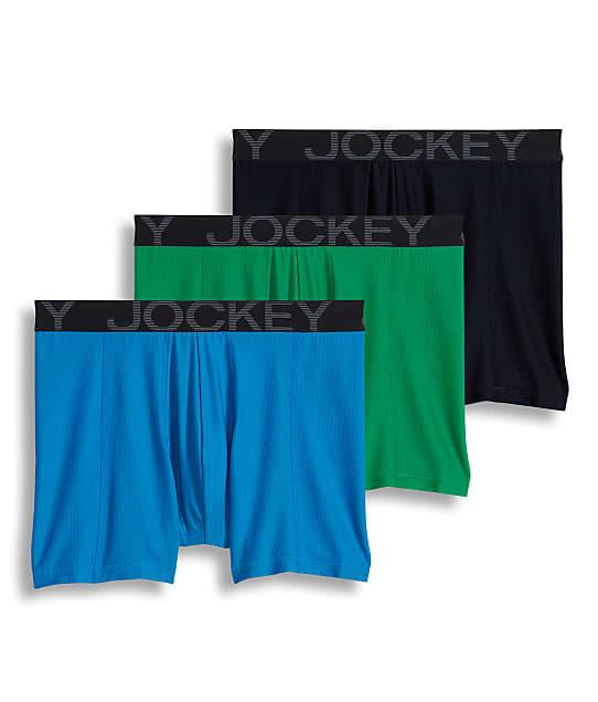 Jockey: Active Mesh Boxer Brief 3-Pack