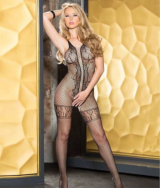 Shirley of Hollywood: Fishnet Crotchless Bodystocking