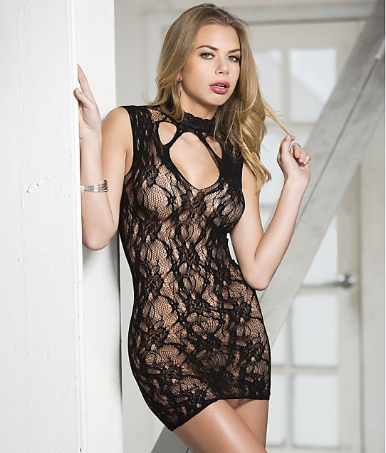 Shirley of Hollywood: Stretch Lace Chemise