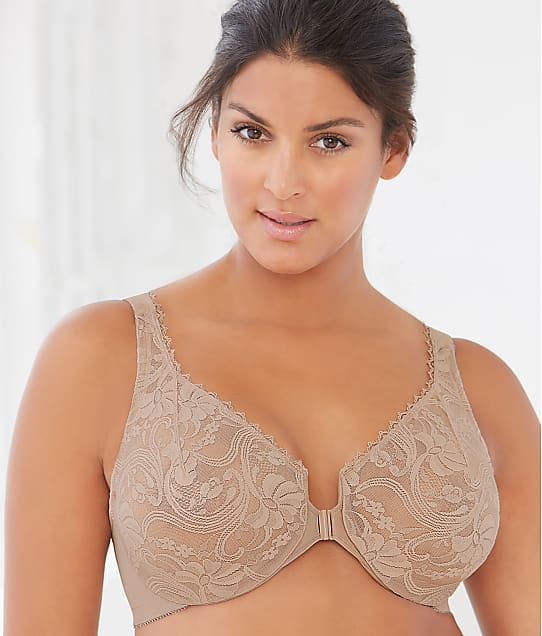 Glamorise: Wonderwire Front-Close Bra