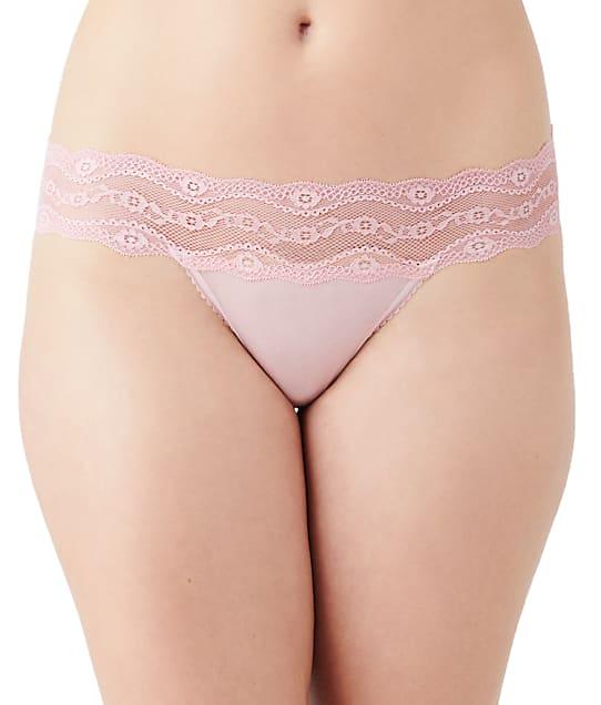 b.tempt'd by Wacoal b.adorable Bikini in Silver Pink 932182