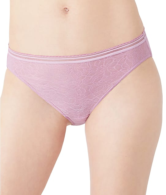 b.tempt'd by Wacoal Etched In Style Bikini in Orchid Haze 970225