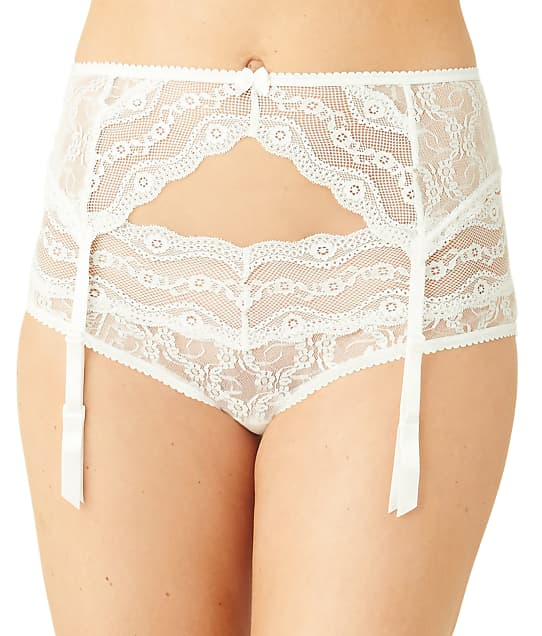 b.tempt'd by Wacoal: Lace Kiss Garter Belt
