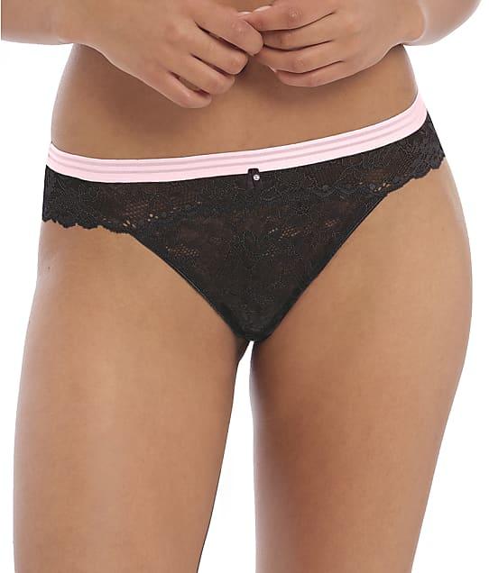 Freya Offbeat Brazilian in Black(Front Views) AA5457