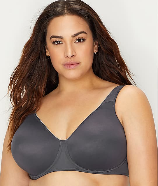 Anita Rosa Faia Twin Seamless Comfort Bra in Anthracite(Front Views) 5490