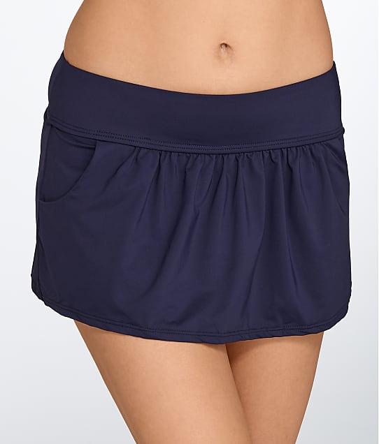 Anne Cole Signature: Solid Skirted Bikini Bottom