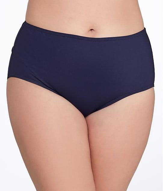 Anne Cole Signature: Plus Size Solid Control Bikini Bottom