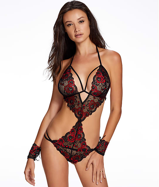 Ann Summers: Brielle Crotchless Teddy Set