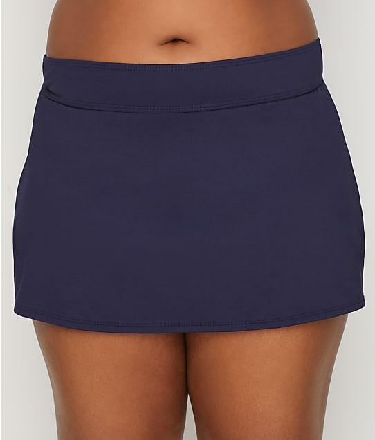 Anne Cole Signature: Plus Size Live In Color Skirted Bikini Bottom