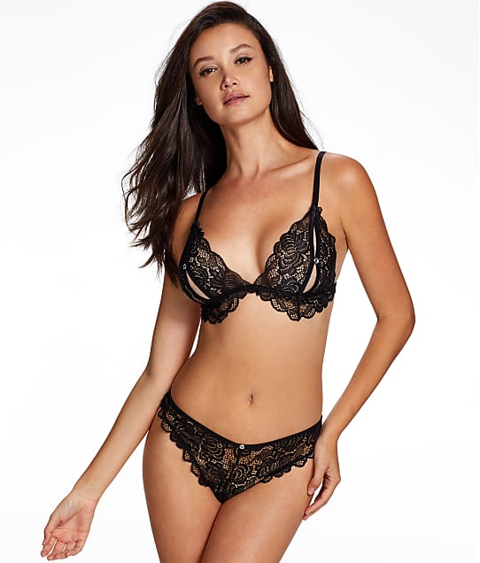 Ann Summers: Aveline Crotchless Panty & Open Cup Set
