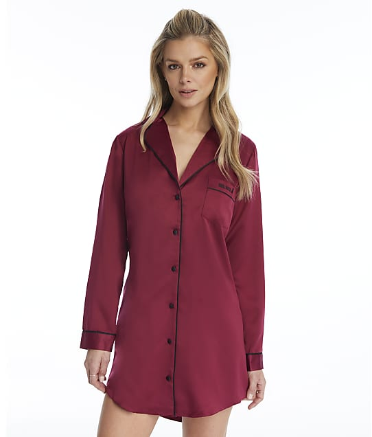 Ann Summers: Girl Boss Satin Sleep Shirt