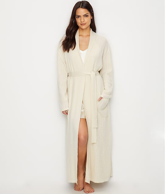 Arlotta: Cable Knit Cashmere Robe