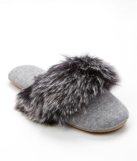 Arlotta: Faux Fur Cashmere Slippers