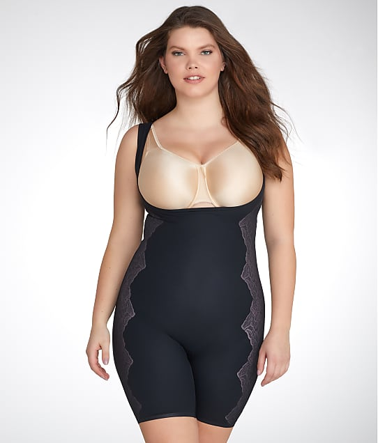 RED HOT SPANX: Plus Size Luxe & Lean Firm Control Bodysuit