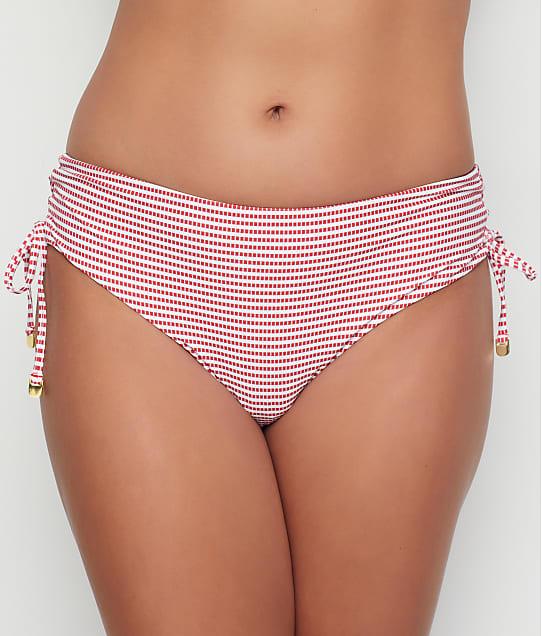 Azura: Porter Mid-Rise Side Tie Bikini Bottom