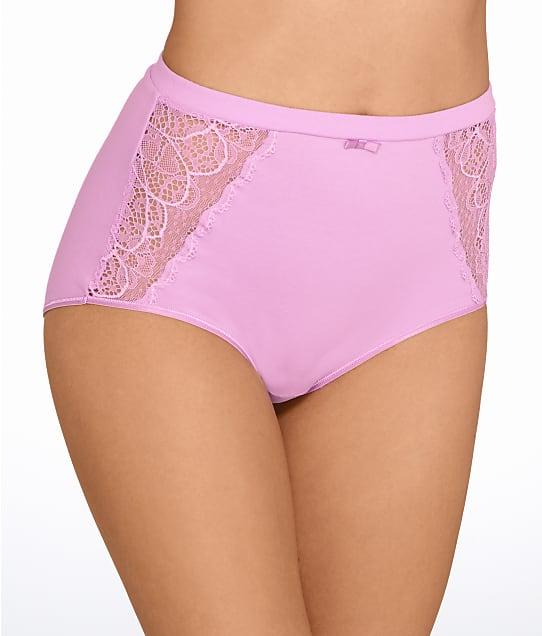 Bali: Cotton Desire Lace Brief