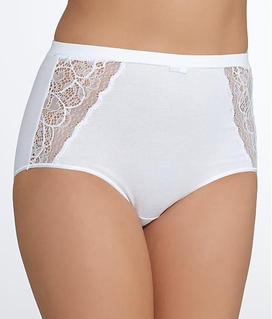 Bali: Lace Desire Cotton Brief
