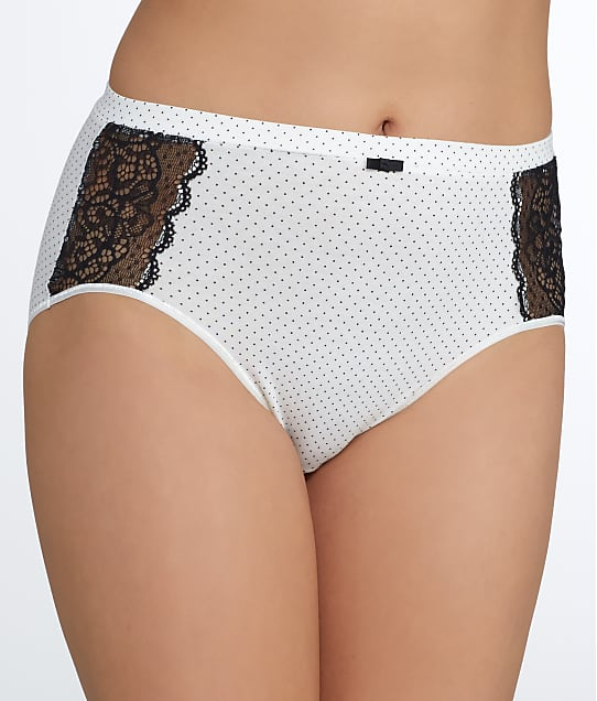 Bali: Lace Desire Hi-Cut Cotton Brief
