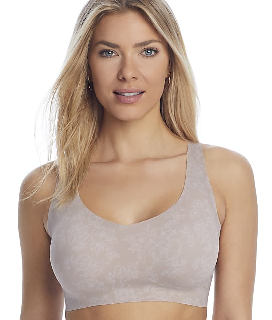 Bali Comfort Revolution EasyLite Back Close Wire-Free Bra in Evening Blush Gloss(Front Views) DF3496