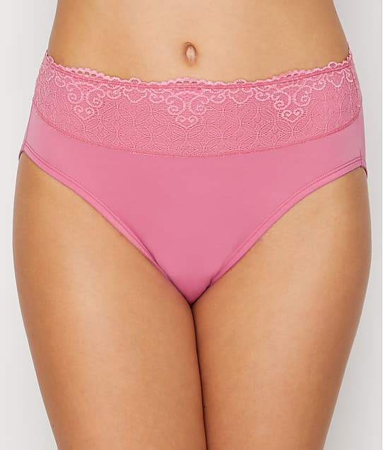 Bali: Smooth Passion For Comfort  Lace Hi Cut Brief