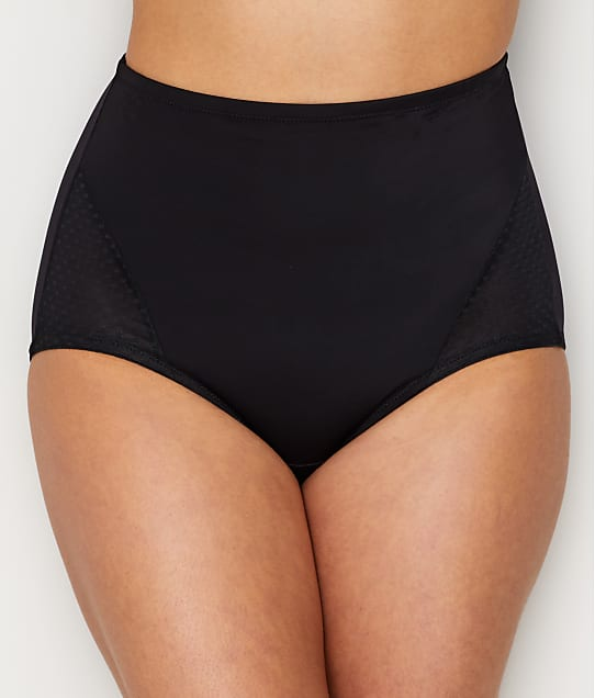 Bali Passion For Comfort Firm Control Brief 2-Pack in Black DFX008