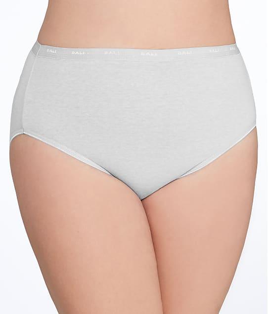 Bali Cotton Hi-Cut Brief in Grey Heather Sky FF62