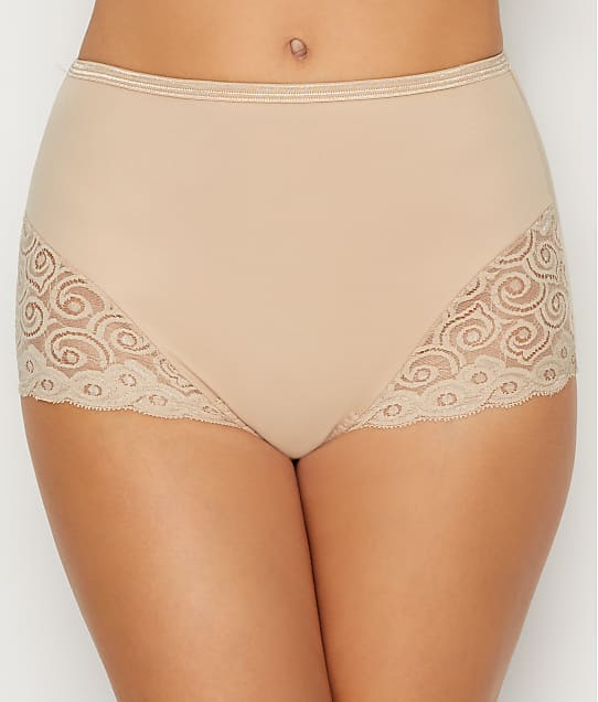 Bali Firm Control Brief 2-Pack in Nude X054