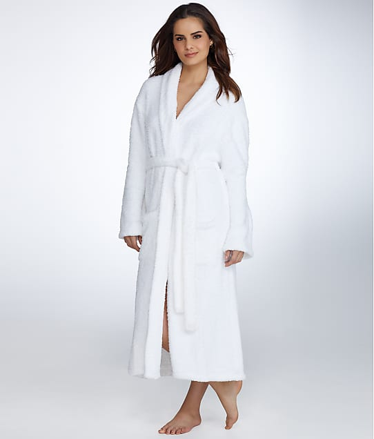 Barefoot Dreams CozyChic Robe in White 509