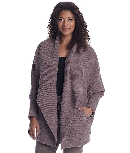 Barefoot Dreams: Cozychic Chevron Ribbed Cardi