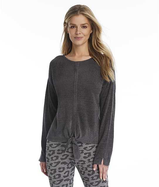 Barefoot Dreams: CozyChic Ultra Lite Tie-Front Knit Top