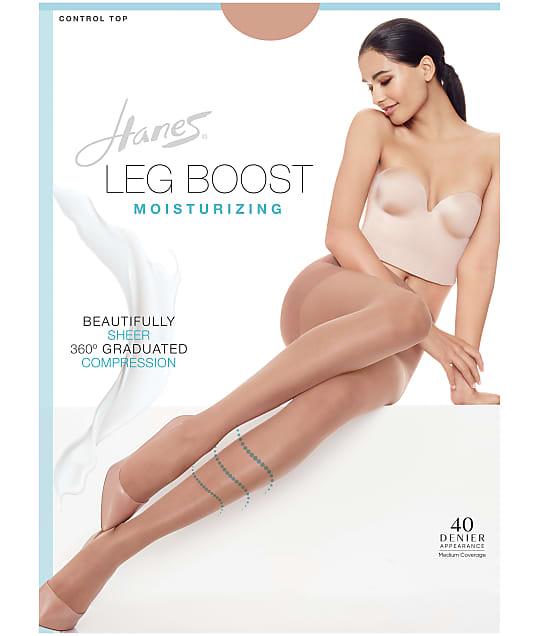 Hanes Leg Boost Moisturizing Control Top Pantyhose  BB0002