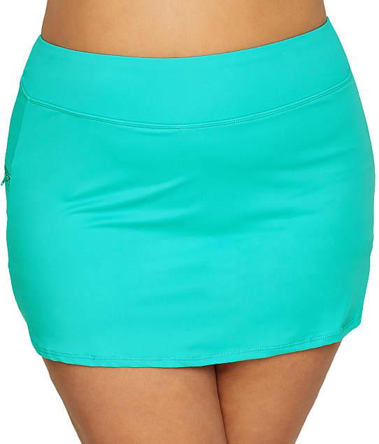 Beach House: Plus Size Paloma Skirted Bikini Bottom