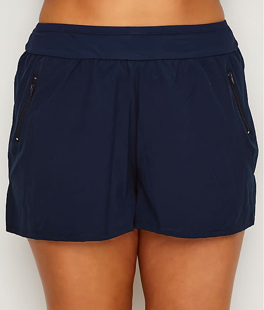 Beach House: Plus Size Paloma Swim Shorts