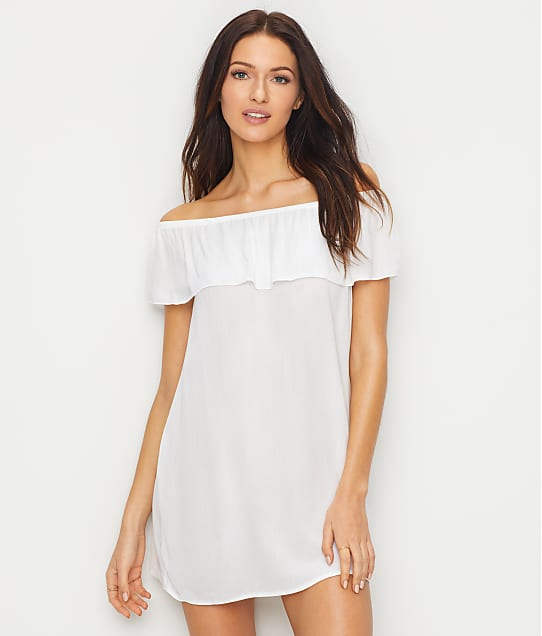 Becca: Modern Muse Off The Shoulder Swim Cover-Up