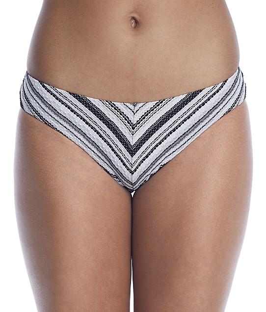 Becca Symphony Adela Bikini Bottom in Black / White(Full Sets) 424217