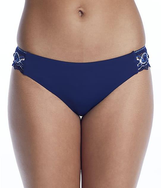 Becca Tallulah Avery American Bikini Bottom in Marina(Front Views) 614317