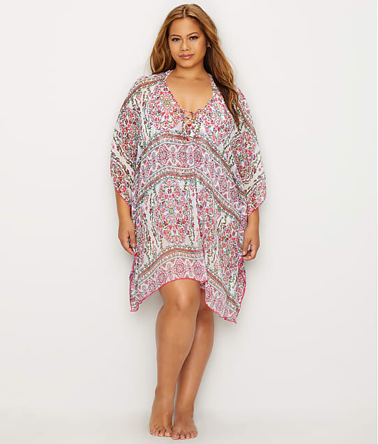 BECCA ETC: Plus Size Granada Chiffon Cover-Up