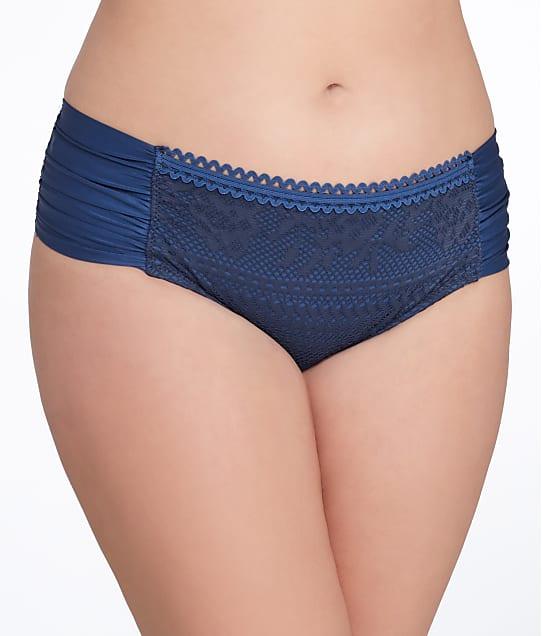 BECCA ETC: Prairie Rose Bikini Bottom Plus Size
