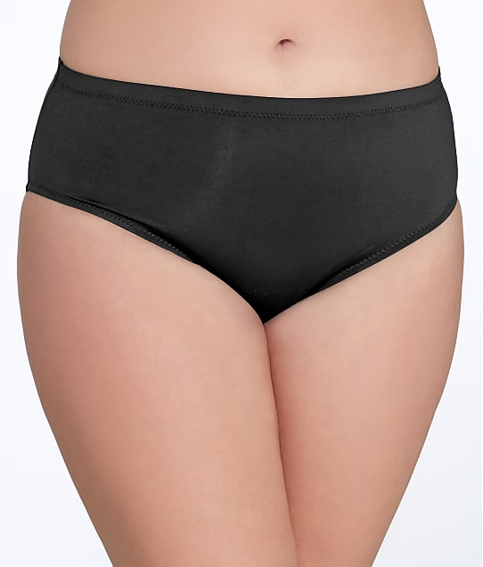 BECCA ETC: Black Beauties Bikini Bottom Plus Size