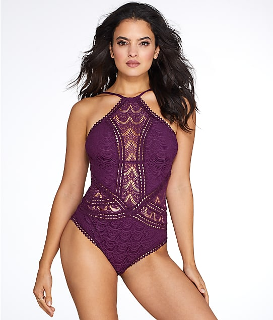 Becca: Color Play High Neck One-Piece