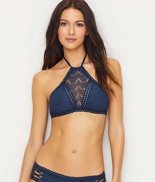 Becca: Color Play High Neck Bikini Top