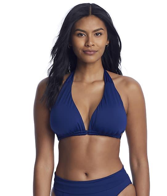 Becca Color Code Bikini Top D-DDD Cups in Marina(Front Views) 853407