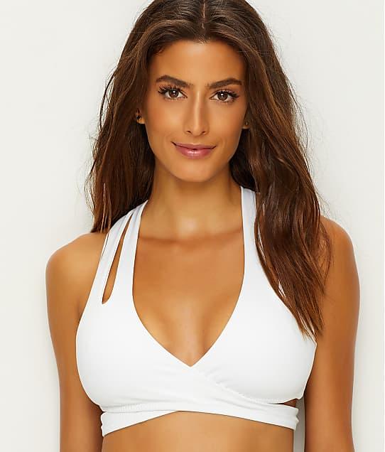 Becca: Color Code Wrap Bikini Top D-E-F Cups