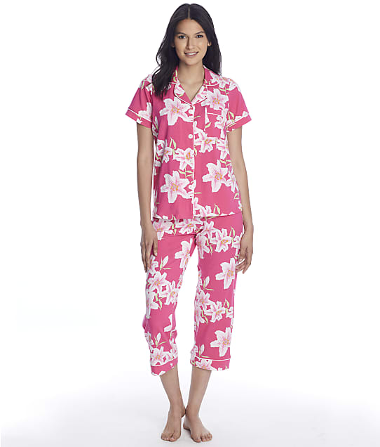 Bedhead In Full Bloom Cropped Knit Pajama Set in In Full Bloom BH2723739
