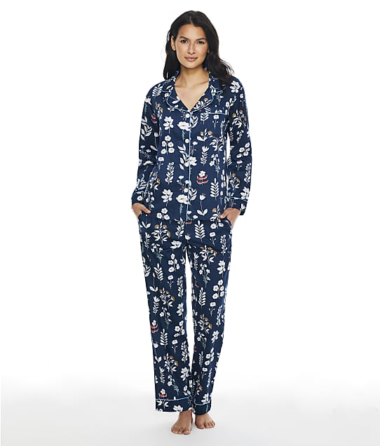 Bedhead Floral Notes Knit Pajama Set in Floral Notes BH2923755