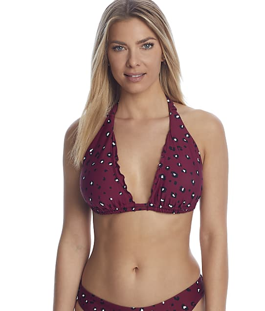 Birdsong: Wildside Triangle Halter Bikini Top