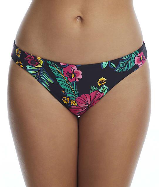 Birdsong Polynesian Floral Hipster Bikini Bottom in Polynesian Floral(Front Views) S20152-POFLR