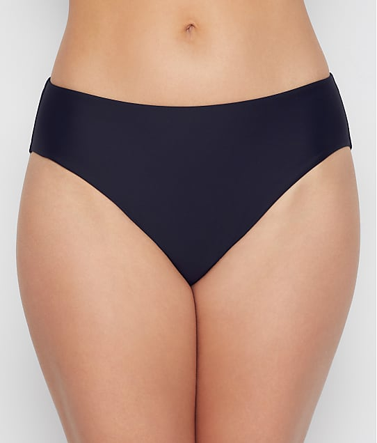 Birdsong Onyx Basic Bikini Bottom in Onyx(Front Views) S20153-ONYX