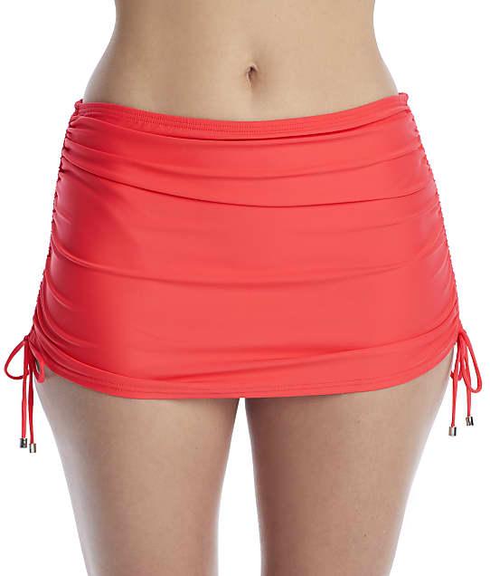 Birdsong Ginger Skirted Bikini Bottom in Ginger(Front Views) S20156-GINGE